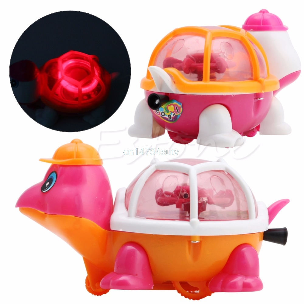 1Pc-New-Lovely-Infant-Baby-Educational-Pull-Emitting-Little-Turtle-Light-Kid-Toy-H055-3