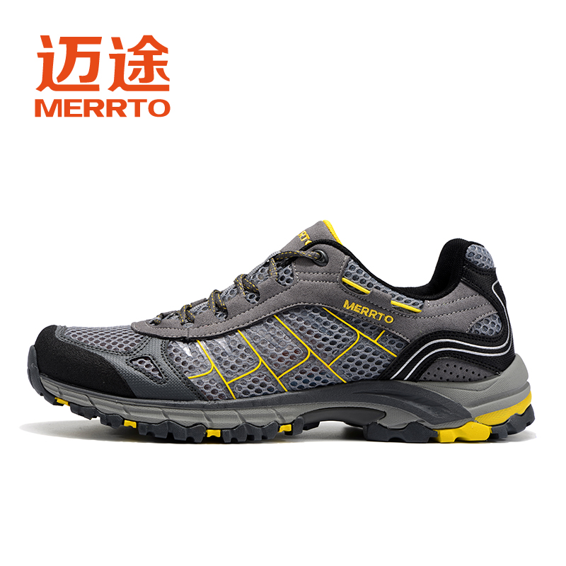 MERRTO Mens Sports Outdoor Trekking Hiking Shoes Sneakers For Men Sport Breathable Climbing Mountain Shoes Sneaker Man humtto new hiking shoes men outdoor mountain climbing trekking shoes fur strong grip rubber sole male sneakers plus size