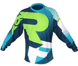 2018 Men Riding Tops RACEFACE AM Summer DH Seven / Long Speed Surrender Cross-country Motorcycle Riding Clothes