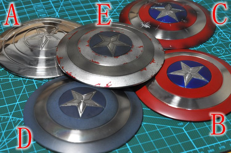 ФОТО 1/6 scale doll Shield for 12