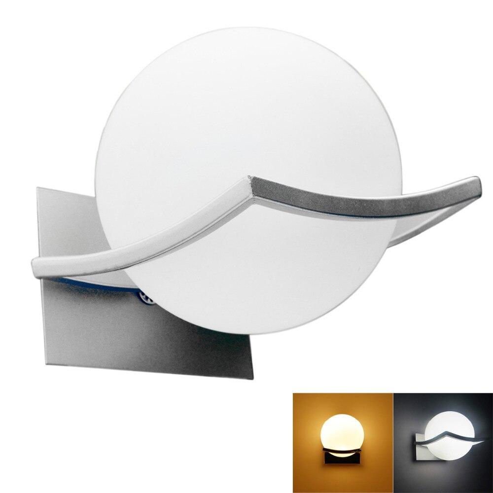 Nouvelle arrivée unique et nouveauté led mur lampes boule de verre appliques murales pour la maison E27 AC90V-260V livraison gratuite