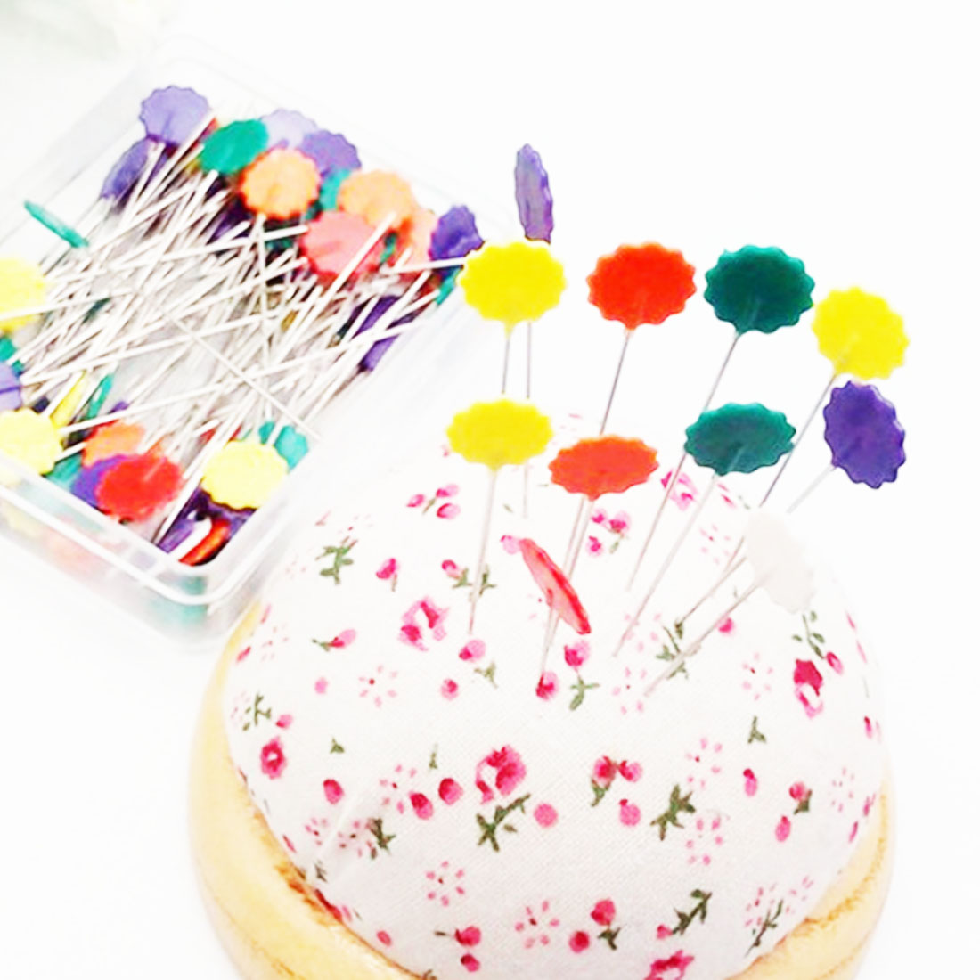 50Pcs/set Sewing Accessories Patchwork Pins Pearl Head