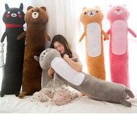 2019 new Soft Animal Cartoon Pillow Cushion Cute Fat Panda Pink Panther Totoro Plush Toy Stuffed Lovely kids Birthyday Gift