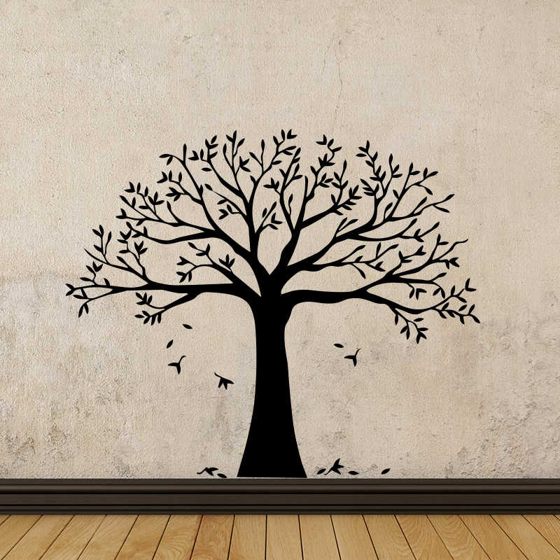 Creative Tree Vinyl Wall Sticker Removable Decor For Living Room Bedroom Decoration Wall Decal Murals Wallpaper wallsticker