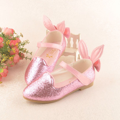 763eb9ada0f1a Children 's girls shoes soft bottom princess shoes primary school pink  powder leisure shoes