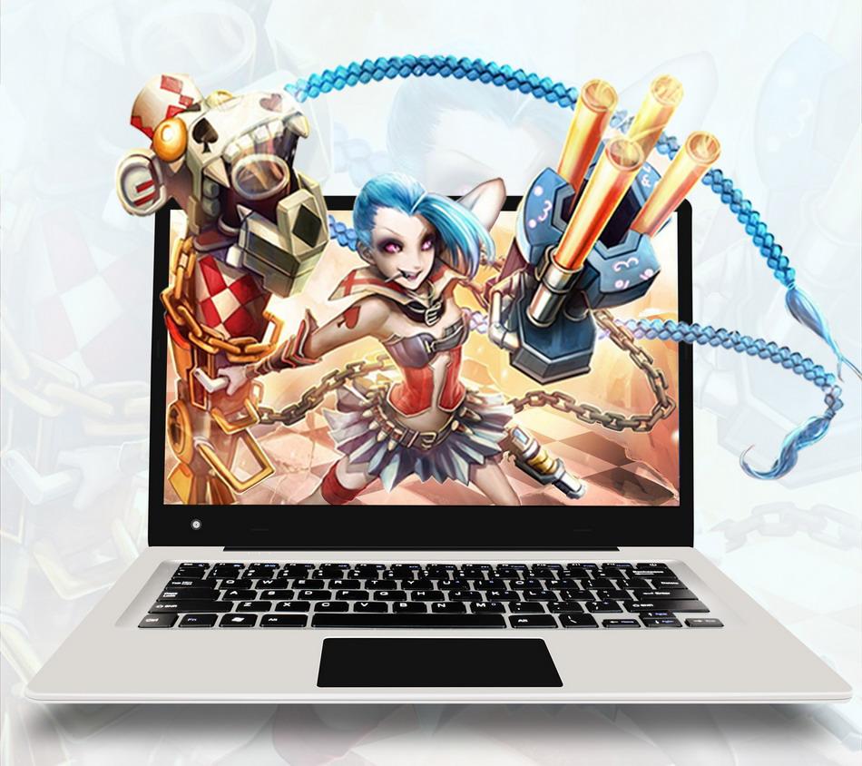 Jumper EZbook 3 Laptop Intel apollo N3350 14 Inch Windows 10 Narrow Frame notebook computer 1920x1080 FHD 4GB 64GB ultrabook (1)
