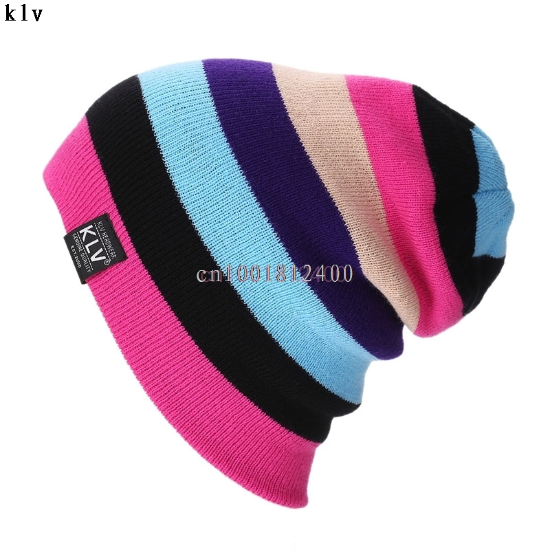 Unisex hat Women Warm Winter Baggy Beanie Knit Crochet Oversized Hats Slouch Cap W033 HOT SALE 2017 winter women beanie skullies men hiphop hats knitted hat baggy crochet cap bonnets femme en laine homme gorros de lana