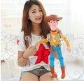"""1 unid 14 """"35 cm Peluche Boneca Toy Story 3 Sheriff Woody Figura de Acción Juguetes de peluche de Felpa Suave juguete regalo de los cabritos"""