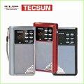 TECSUN A6 Радио FM/AM/mp3. карманный портативный размер. с светом сид, аккумуляторная и сменный аккумулятор, MP3 player VS Degen