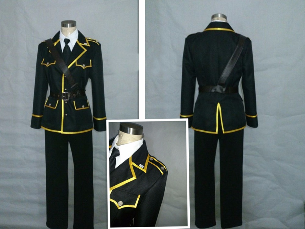 Touken Ranbu Cosplay Military Uniform Mikazuki Munechika Cosplay Costume