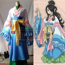 Hoozuki no Reitetsu Do Daji Margarita Partido Anime Cosplay Costume Personalizada