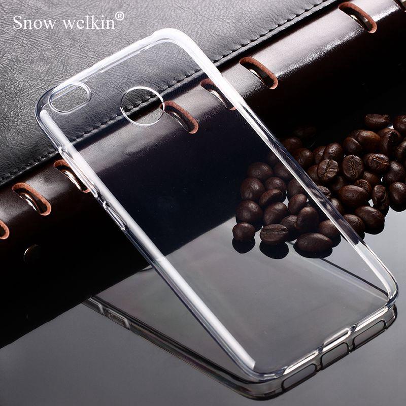 100% QualitäT Schnee Welkin Klar Silikon Weiche Ultra Dünne Tpu Telefon Zurück Fall Für Xiaomi Redmi 3 3 S 3x 4a 4 Pro 4x Y1 Lite Anmerkung 5a 5 Plus Abdeckung Exquisite (In) Verarbeitung
