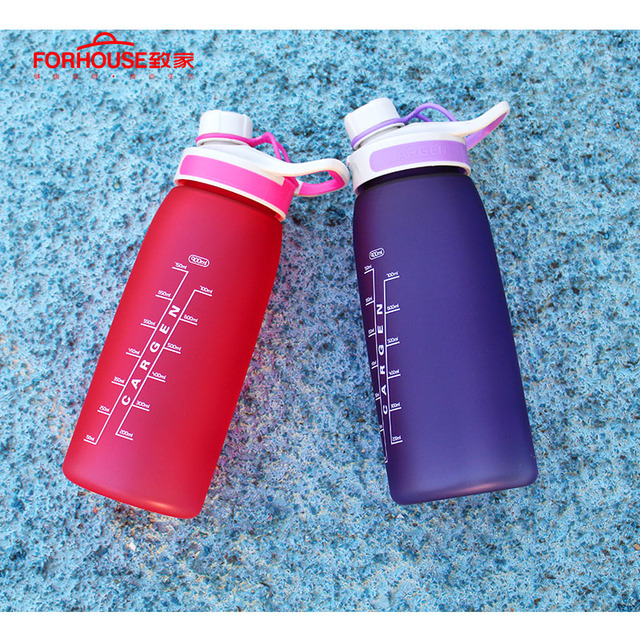 900ml Healthy Silicone Sport Water Bottle Portable Leak Proof Drinking Bottles for Outdoor Travel Cycling Running Drinkware 2
