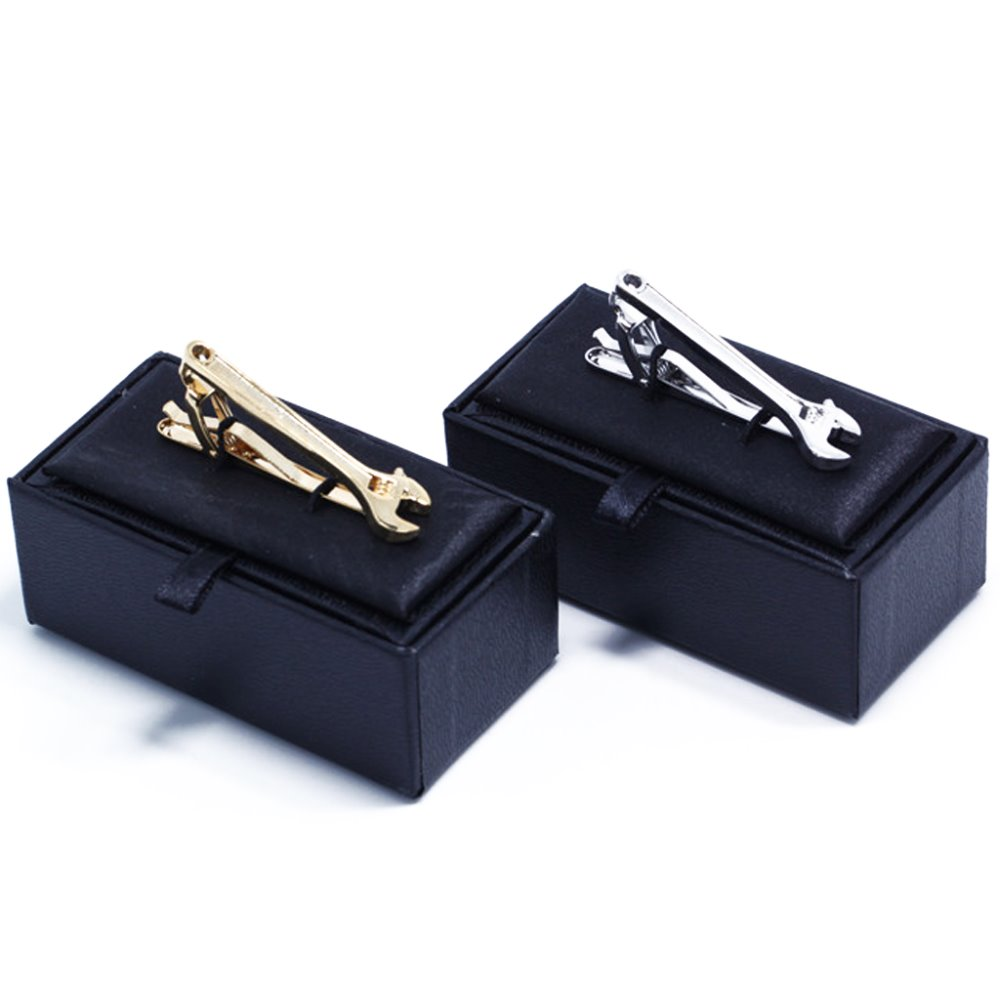 Herrenmode Silber Gold Schraubenschlüssel Krawattennadel ...