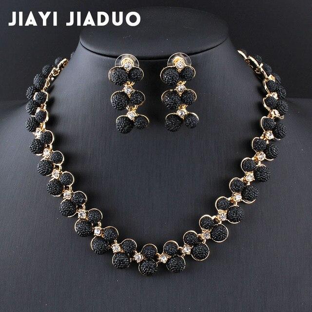 Jiayijiaduo Dubai hochzeit schmuck set Gold farbe Halskette