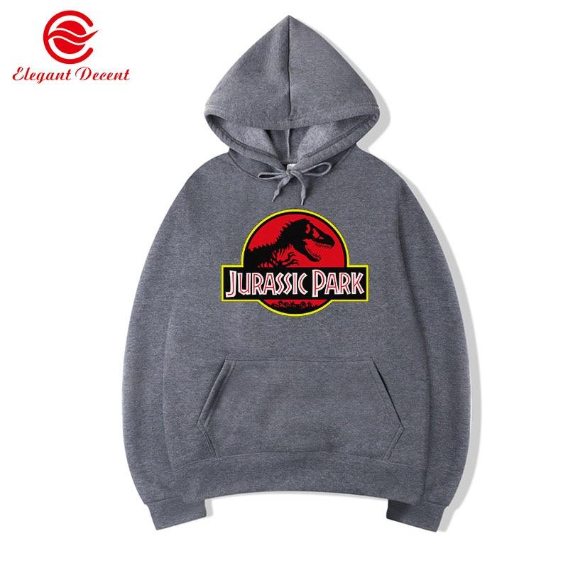 Jurassic Park Sweatshirt Men/Women Hoody Fleece Hoodies Jurassic World Hoodie Unisex Streetwear Clothing Y21