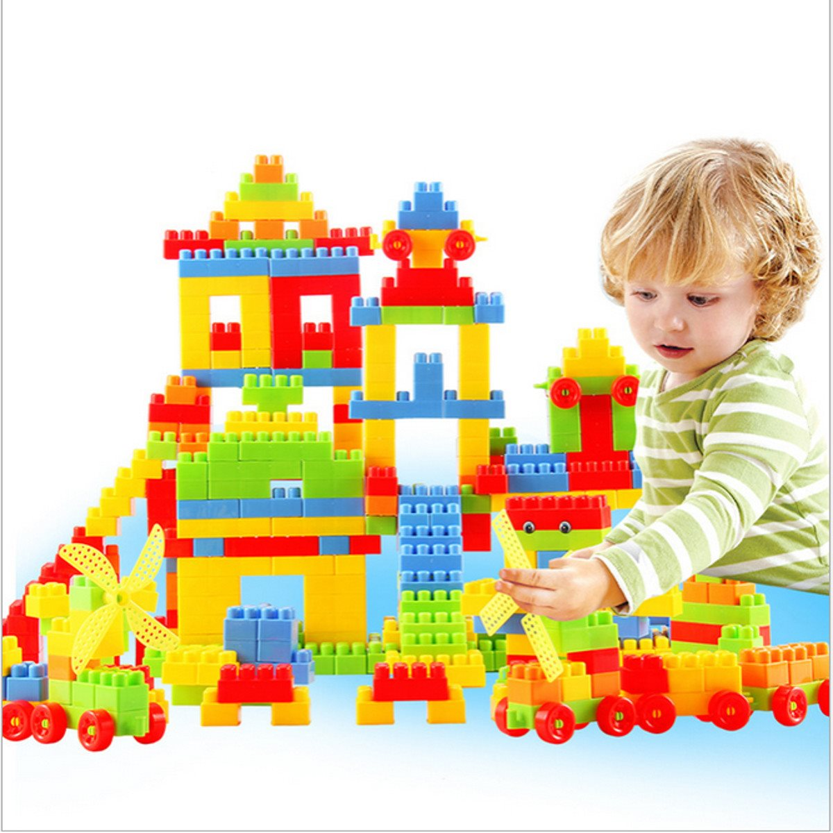 Building Toys For Teenagers : Pcs children puzzle educational building bricks toy