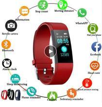 New sports smart bracelet waterproof sphygmomanometer smart bracelet fitness tracker smart pedometer smart bracelet PK my band qs80 smart bracelet orange