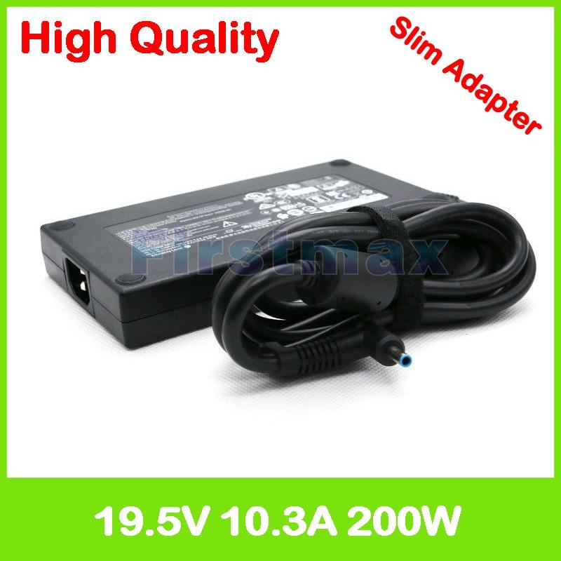 Sottile 19.5 v 10.3A 200 w ac adattatore di alimentazione del caricatore del computer portatile Per HP ZBook 17 G3 G4 G5 Mobile Workstation TPN-CA03 815680-002 835888-001