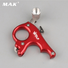 Promo offer 3 Finger WOLF Grip Caliper Release Aid Stainless Steel Release for Compound Bow Hunting/Shooting Archery Free Shiping