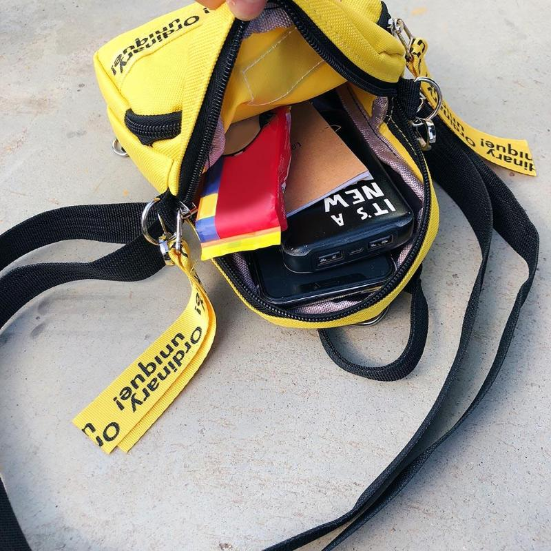 HTB1YTzXXfjsK1Rjy1Xaq6zispXa6 Multi-Use Teenage Girls Mini Backpack Nylon Letter Print Shoulder Crossbody Bags Casual Women Backpack Mochilas Mujer