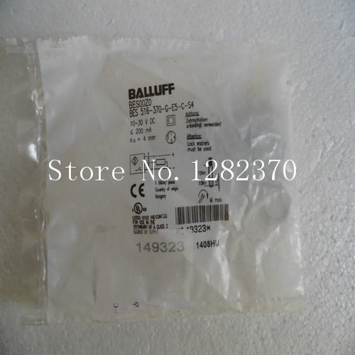 [SA] New original special sales BALLUFF sensor BES 516-370-G-E5-C-S4 spot --2PCS/LOT 4pcs new for ball uff bes m18mg noc80b s04g