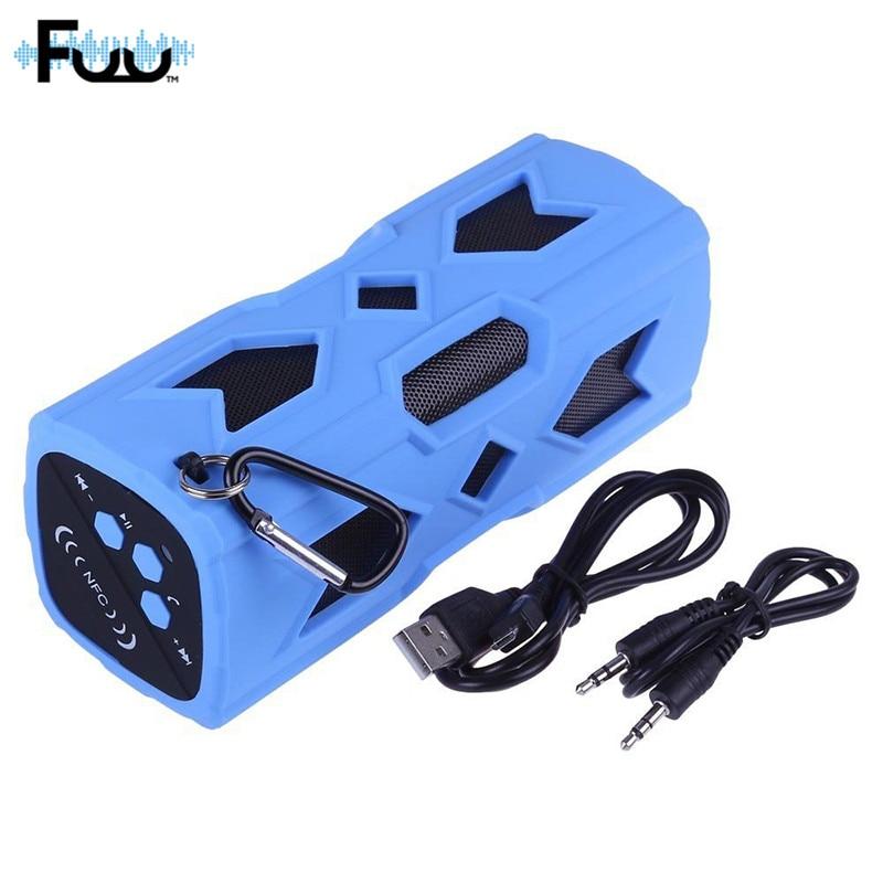 FUU Yeni Dikdörtgen Açık Su Geçirmez Bluetooth Hoparlör Mobil - Taşınabilir Ses ve Görüntü - Fotoğraf 1