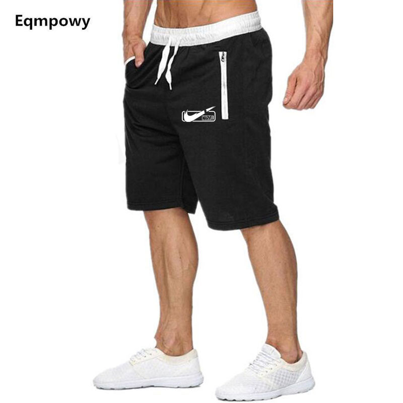 Shorts Men Clothing Elastic Casual-Style Plus-Size Beach Summer Brand New JUST Print