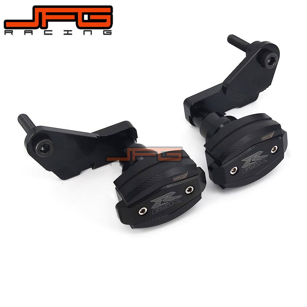 Motorcycle CNC Frame Crash Pads Engine Case Sliders Protector For SUZUKI GSXR1000 GSX1000R GSXR 1000 09 10 11 12 2013 2014 2015 motorcycle frame sliders crash engine guard pad aluminium side shield protector for kawasaki ninja zx10r 2011 2013
