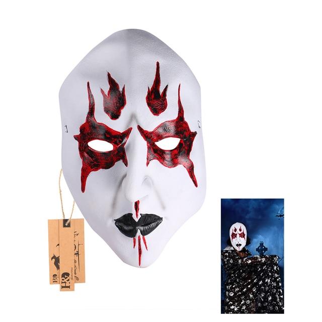 Vollgesichts Cosplay Feuer Batman Scary Ghost Latex Maske Horror Maskerade Erwachsenen Film Maske Halloween Requisiten Kostüme Kostüm