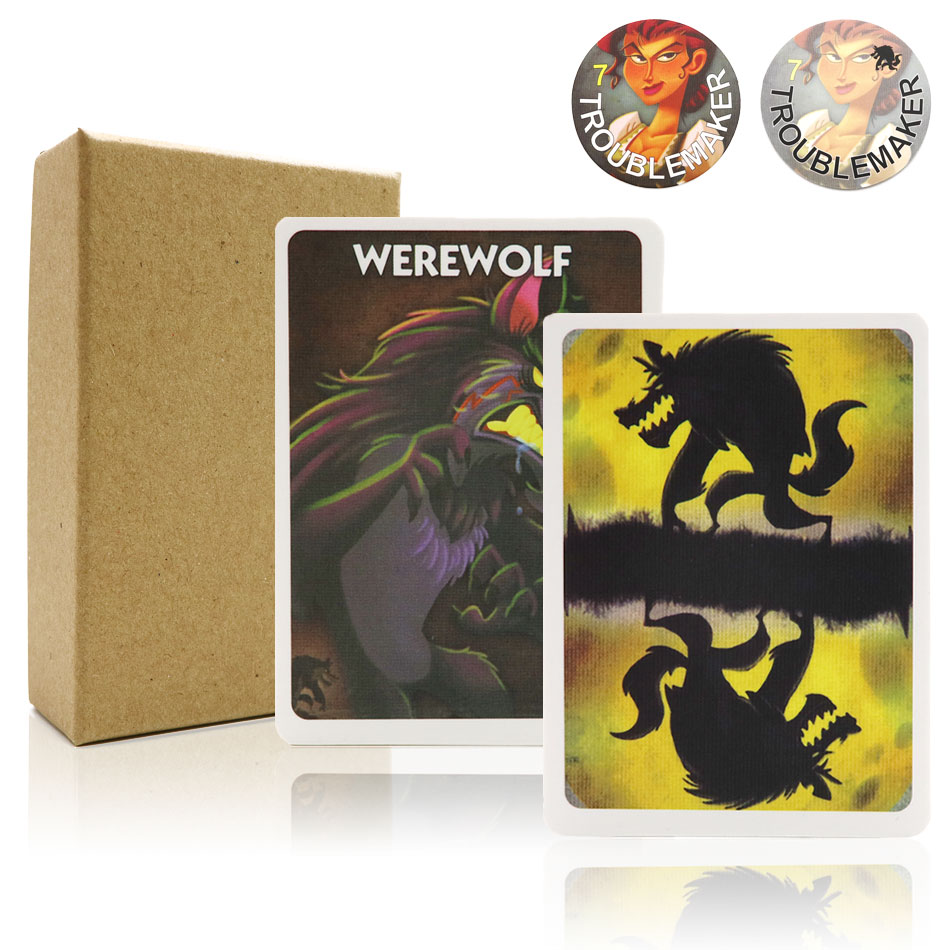 2019 Werewolves Game One Night Ultimate Full English Version For Party Family Fun Board Game
