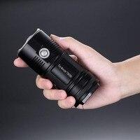 Бесплатная доставка Nitecore 4000 люмен TM06S CREE XM L2 U3 светодиодный фонарик Водонепроницаемый без 4x18650 Факел открытый поиск кемпинг
