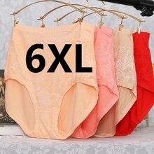 Cuecas femininas super grandes, 3xl, 6xl, 7xl, 5 unidades/lotes, fibra de bambu