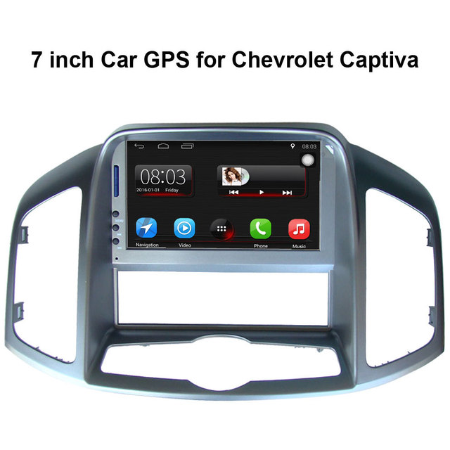 7 inch Car GPS Navigation for Chevrolet Captiva 2011-2012 Car Radio Video Player Support WiFi mobile phone Mirror-link