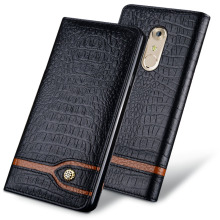 New Luxury Original Brand Genuine Crocodile Leather Phone Cases For ZTE AXON 7 Fashion Phone Bags For ZTE AXON 7 A2017