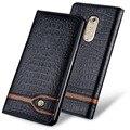Nova Marca Original Luxo Genuínos Casos de Telefone de Couro de Crocodilo Para zte axon 7 moda sacos de telefone para zte axon 7 A2017