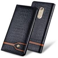 New Luxury Original Brand Genuine Crocodile Leather Phone Cases For ZTE AXON 7 Fashion Phone Bags