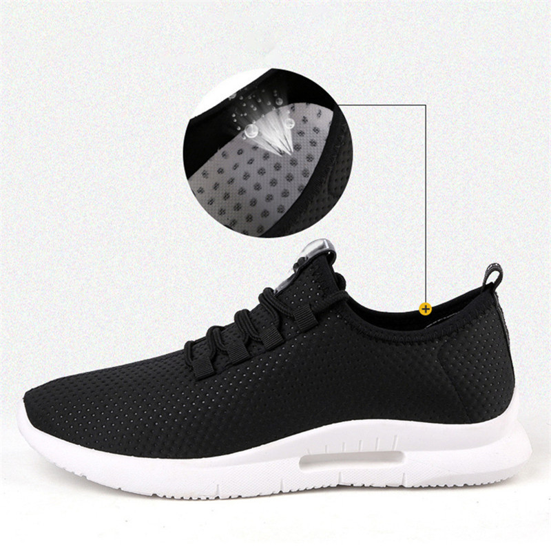 Spring And Summer Fashion Mens Casual Shoes Lace Up Breathable Shoes Sneakers Mens Trainers Zapatillas Hombre Zapatos De Hombre in Men 39 s Casual Shoes from Shoes
