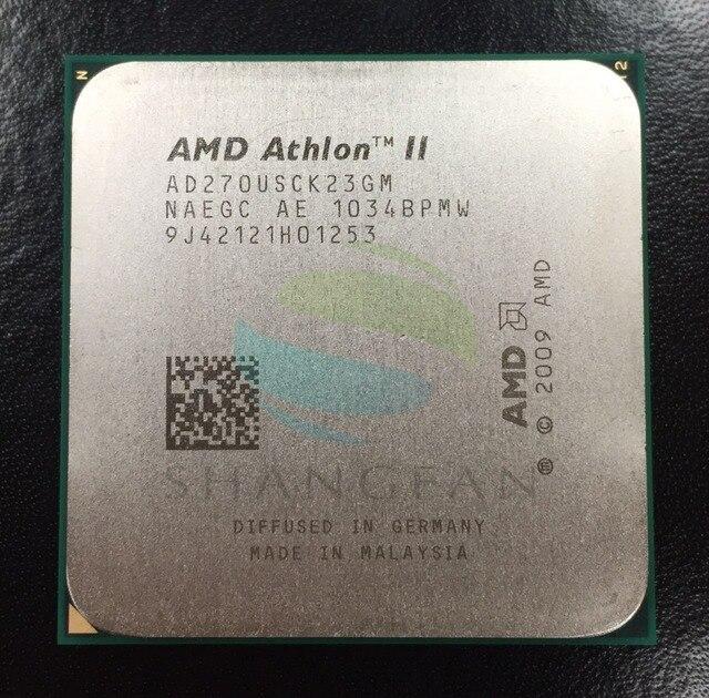 For X2 270u AD270USCK23GM  2GHz 25W Dual-Core CPU Processor  Socket AM3 938pin