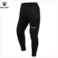 KELME Kids/Children Survetement Football Pants Soccer Training Trousers Sport Running Protector Goalkeeper Kids Sweatpants