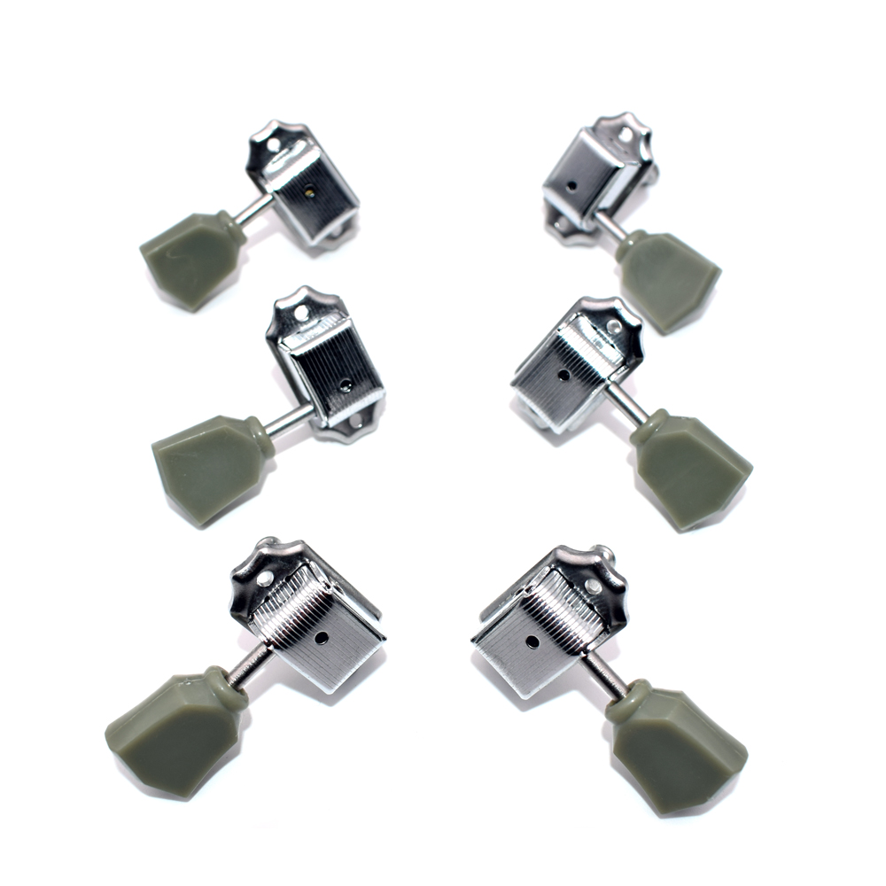 Tuning Pegs Chrome Vintage Deluxe Guitar Strings Grover Keys Tuner Aliexpresscom Buy Free Shipping Wilkinson Covered Machine Heads 3l 3r For Lp Electric Parts Accessories In