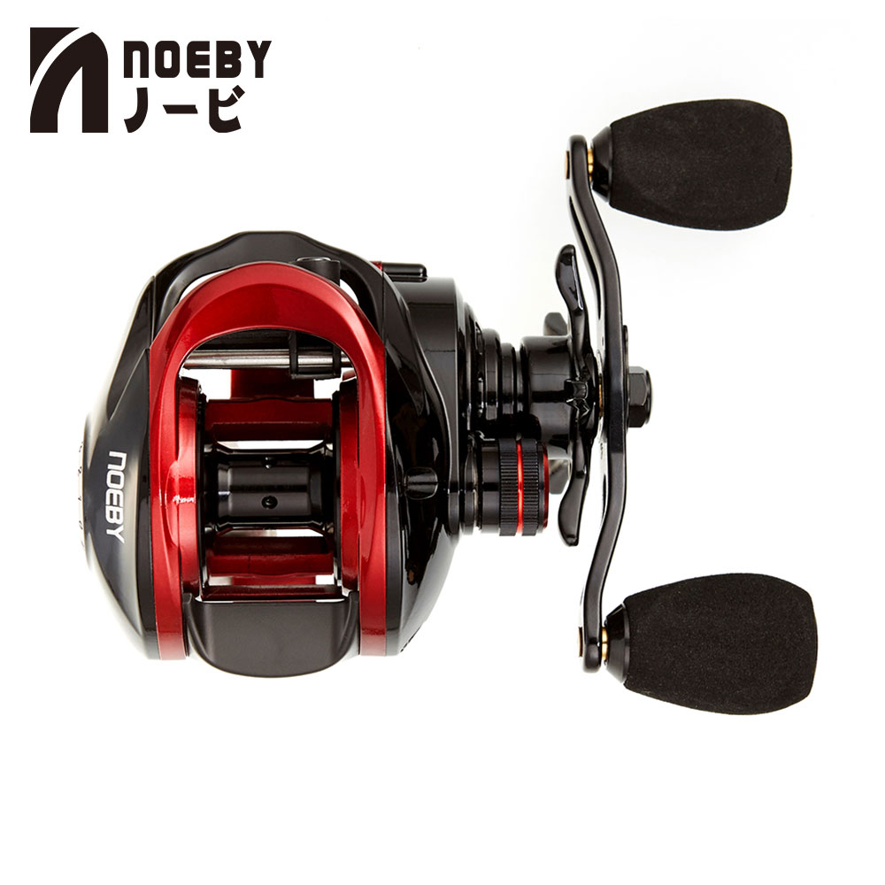 NOEBY NONSUCH A5/A6 Fishing Reels Drag Power 8kg 7.3:1 10+1Gear Ratio Magnetic Brake 10 Bearing Left Right Hand Baitcasting ReelNOEBY NONSUCH A5/A6 Fishing Reels Drag Power 8kg 7.3:1 10+1Gear Ratio Magnetic Brake 10 Bearing Left Right Hand Baitcasting Reel