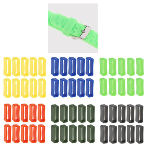 10pcs Silicone Rubber Watch St