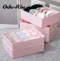 Оду-Рин организатор Моющийся пластиковый бельевой ящик может наложить получать коробку носки нижнее белье бюстгальтер получать коробка для хранения