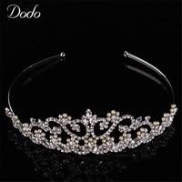 Dodo High Quality Austrian Crystal Bridal Crown Wedding Hair Accessories Vintage Jewelry Tiara Headpieces For Brides