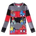 Черный серый красный Одежда для мальчиков одежда майка детская одежда Все для детей одежда аксессуары roupas infantil meninos enfant