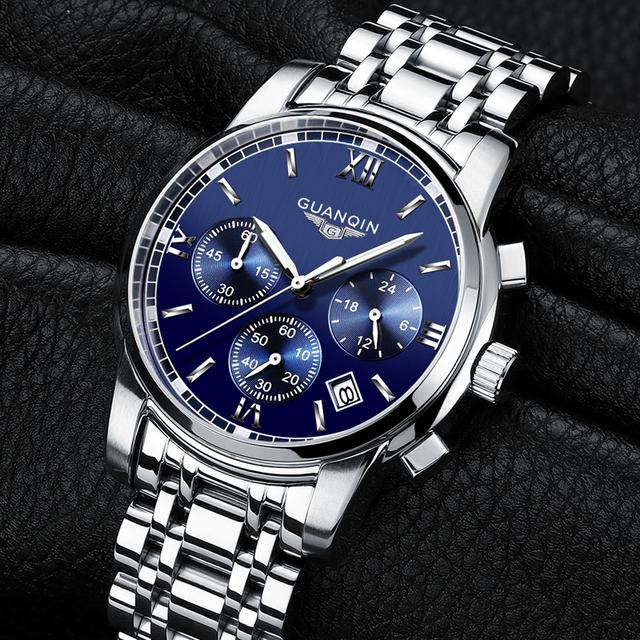 Waterproof Men Wristwatch