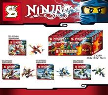 SY249 Ninja Fighter Series Tornado Fighter Spinjitzu Minifigures Building Best Toys
