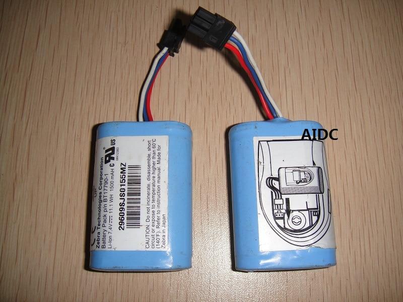 For  Zebra MZ220, MZ320, BT17790-1 printer original battery(second hand) original brand new printhead print head for zebra mz220 mz 220 barcode printer printer spare parts