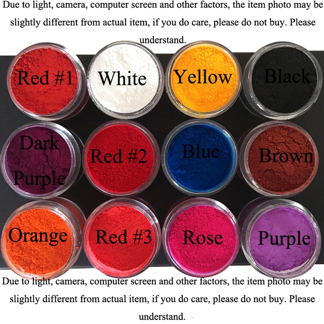 DIY Candle Dye Candle Wax Coloring Lipstick Pigment 1G-in Soap Dyes ...